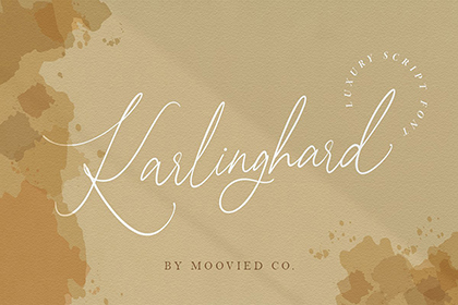 Karlinghard Luxurious Script
