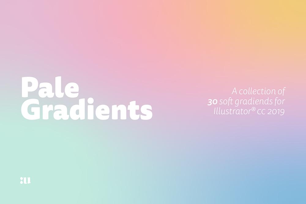 High-Resolution Pale Gradients Freebie