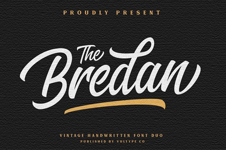 Free Brendan Script Font