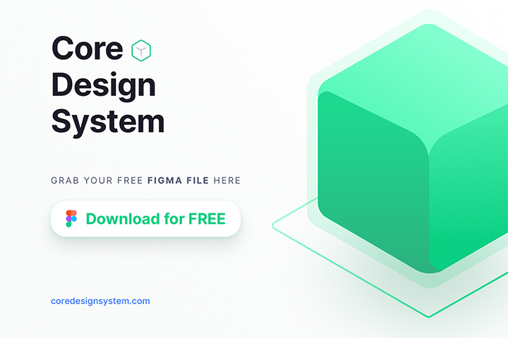 Free Core Design System for Figma