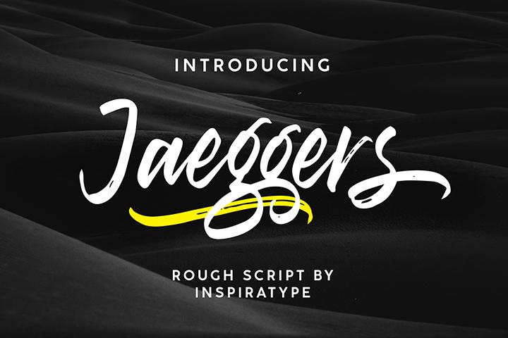 Free Jaeggers Script Font