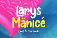 Free Demo Font Larys Manice