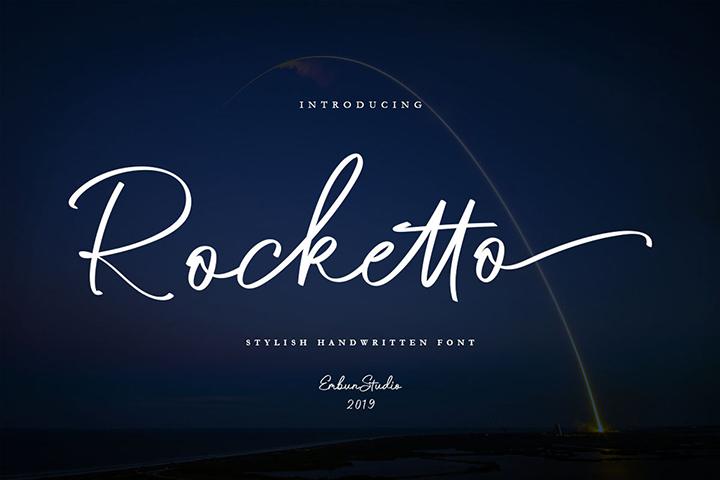 Rocketto Stylish Handwritten