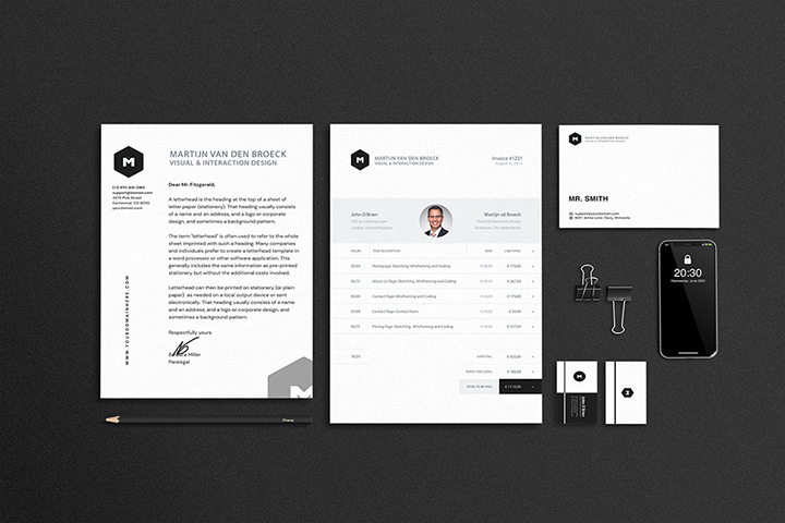 Stationary/Branding Mock-ups