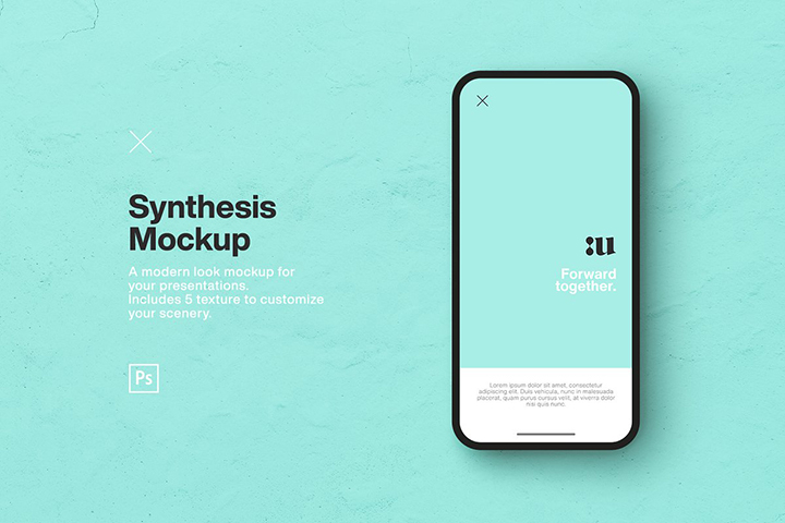 Free Synthesis Smartphone Mockup