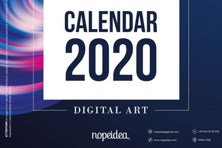 Free Digital Art Calendar 2020