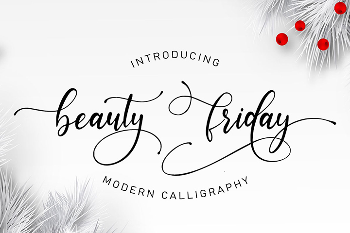 Free Beauty Friday Script