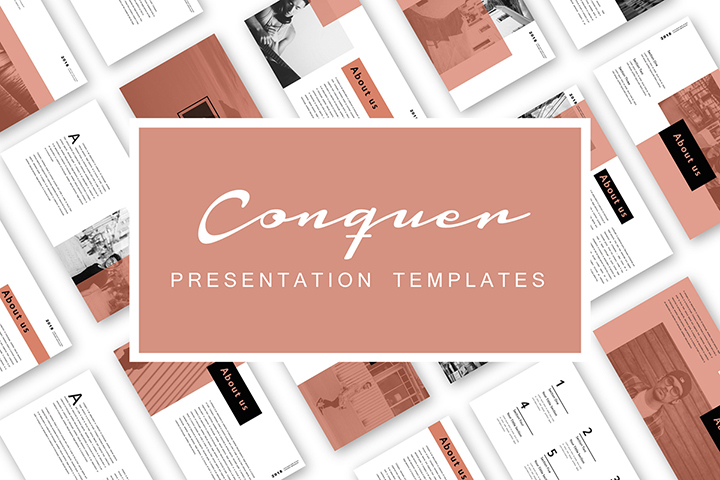 Free Conquer Powerpoint Template