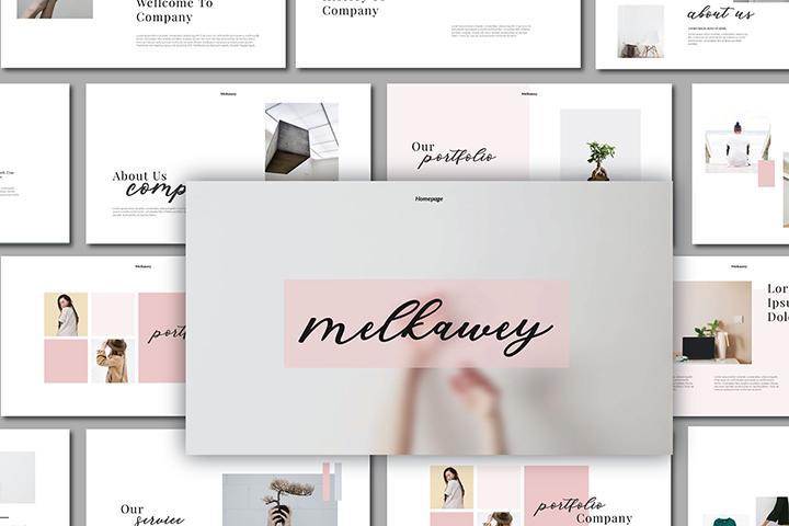 Melkawey Free Presentation Template