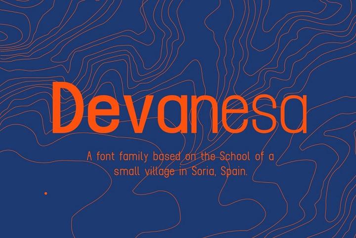 Devanesa Free Font Family