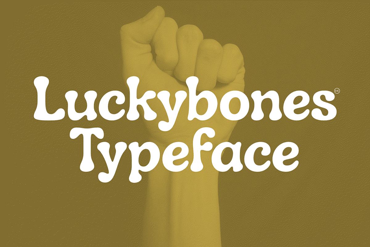 Luckybones Free Typeface