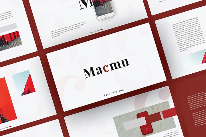 Macmu Free Presentation Template