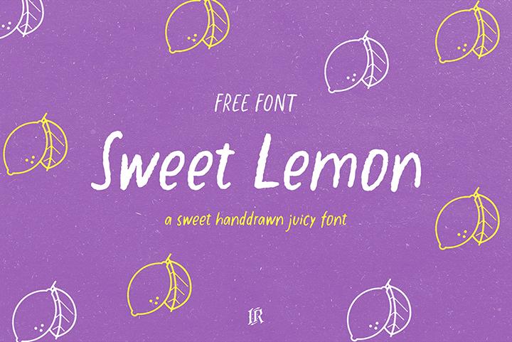 Sweet Lemon Free Font